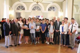 Cérémonie de remise des prix du Concours National de la Résistance et de la Déportation 2017