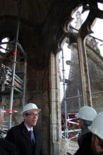 2013.12.02 Visite chantier cathedrale 2