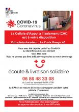 flyer conseils isolement