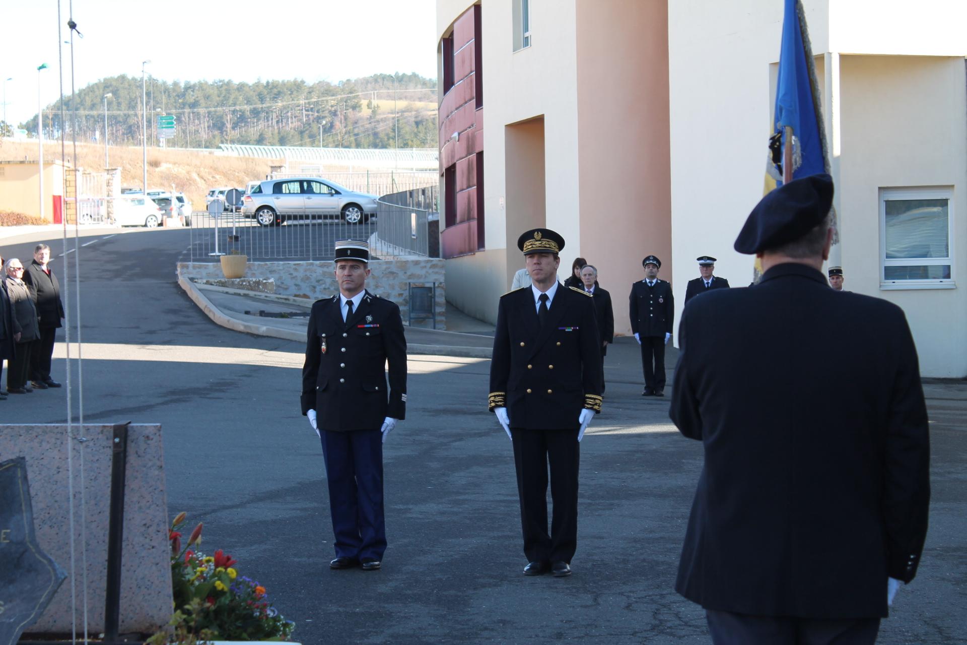 C r monie d 39 hommage aux morts de la gendarmerie nationale for Gendarmerie interieur gouv